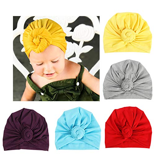 d71a86b89cc48a Hats & Caps – BQUBO 5 Pieces Cute Turban Hats for Baby Girls Vintage Soft  Bun Knot Infant Toddler Baby Cap (5 Pack Knot B, 12-36 Month) Offers