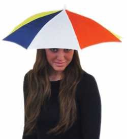 Hats Caps Funny Party Umbrella Hat Fishing For Kids And Adults Elastic Rainbow Colors