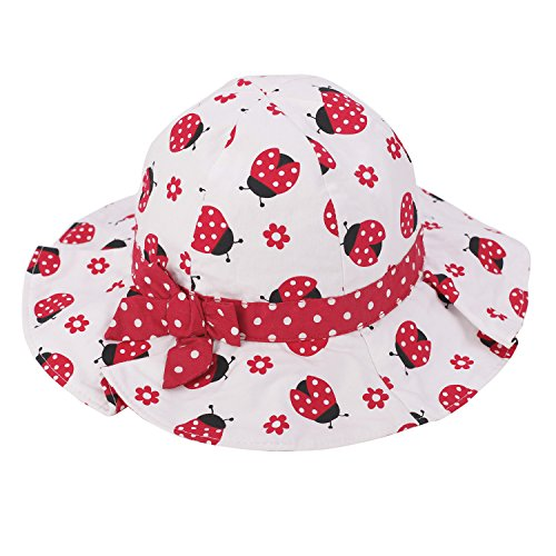 ff07a0c35 Hats & Caps – Baby Girls Toddler Cotton Bucket Hat Summer Bowknot ...