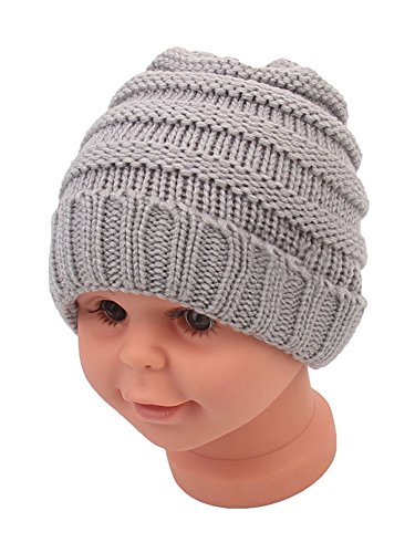 Believe in The Magic of Christmas Infant Skull Hats Toddler Beanies Caps
