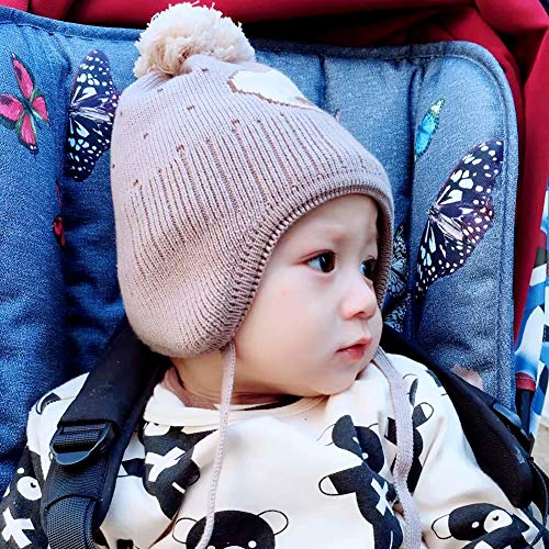 8ddb0bd56 Hats & Caps – Exemaba Baby Winter Hat with Earflap – Unisex Cute ...