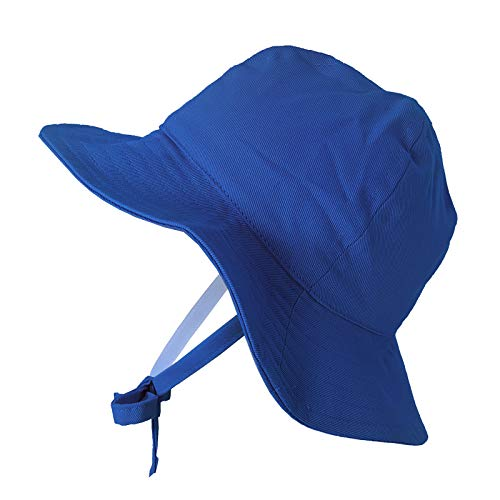2fac7b835e20c1 Hats & Caps – Happy Tree Baby Sun Hat Wide Brim 100% Cotton Toddler Bucket  Hat Sun Protection Kids Breathable Sun Cap (XLarge), Blue Offers