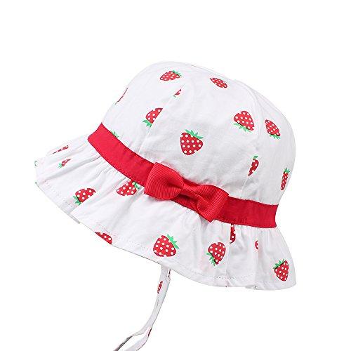 feeef2ac2f073 Hats   Caps – KASULAR Baby Girls Sun Hat Summer Bucket Cap Adjustable for  Growth
